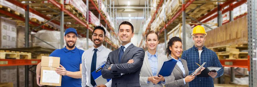 Décrocher un poste d'emploi dans le secteur de la logistique